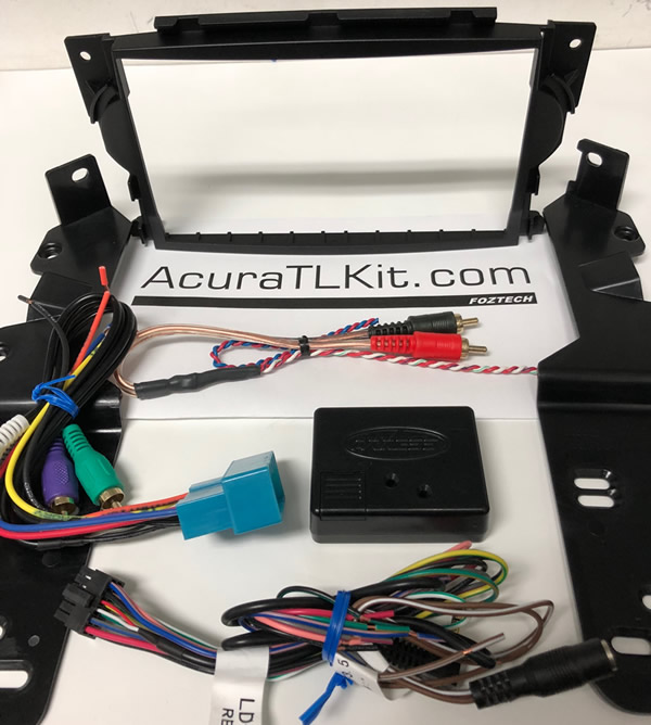 ACURA TL DOUBLE DIN DASH KIT - 2004 acura tl dash kit